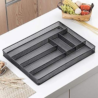 Velaze Besteck Besteck Set aus rostfreiem Edelstahl mit 12*Messer/Gabeln/Löffel/Kaffeelöffel als Geschenk spülmaschinefest