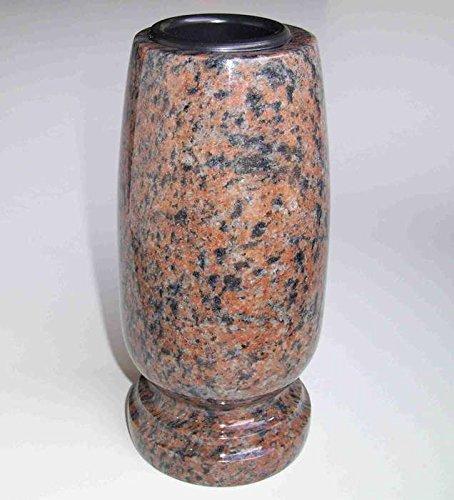 'classico designgrab de Medium Vase funéraire en en granit gneis Halmstad/barap/Hollandia cimetière Vase Pierre Tombale