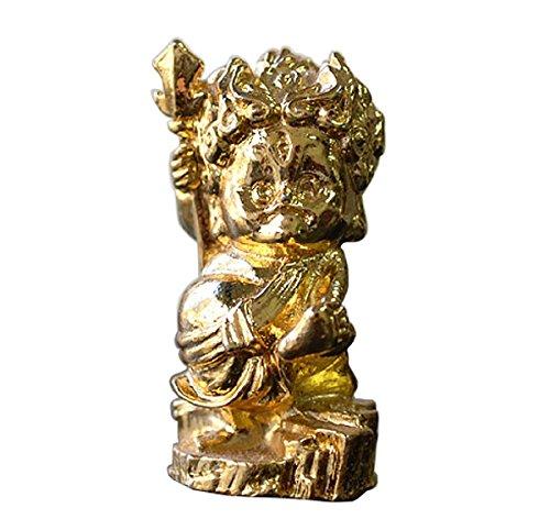ucchusma WC Gott Kamisama Kawaya Kami Badezimmer Göttin Japanischer Buddha Zink Legierung vergoldet Miniatur Statue Figur Japan Import Made in Japan - Buddha-statue In Japan