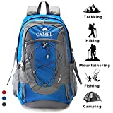 Best Backpack For Hikings - Camel Hiking Backpack Lightweight Travel Packable Rucksack Durable Review