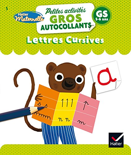 Lettres cursives - Grande Section