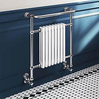 8 Column Traditional Vintage Wall Heated Towel Rail Bathroom Radiator