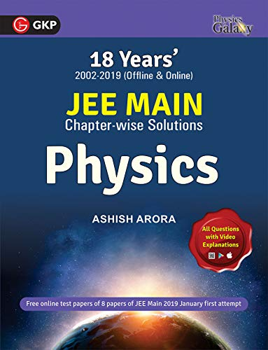 Physics Galaxy 2019 - 18 years' JEE MAIN Chapterwise Solution 2002-2019 - Physics