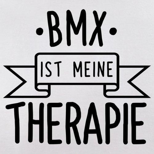 BMX ist meine Therapie - Herren T-Shirt - 13 Farben Weiß