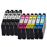 10x Drucker Patronen Kompatibel DiSa für Epson PK 29 XL Expression Home XP 235 XP 245 XP247 XP332 XP342 XP345 XP 432 XP435 XP442 Neu