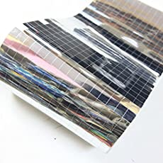 Embroiderymaterial Foil Mirror for Embroidery Blouse Craft Purpose(Square Shape, 770 Pieces)