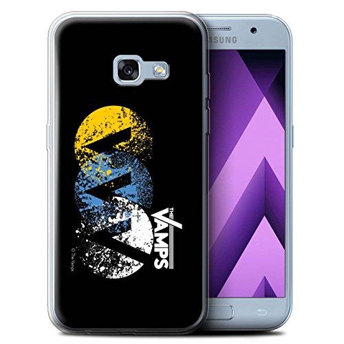 Preisvergleich Produktbild Offiziell The Vamps Hülle / Gel TPU Case für Samsung Galaxy A3 (2017) / VVV Muster / The Vamps Graffiti Band Logo Kollektion