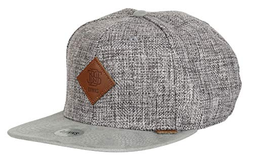 Djinns Suelin (grey) - Snapback Cap Baseballcap Hat Kappe Mütze Caps