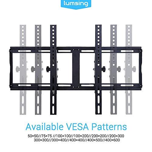 """TV-Wandhalterung, Lumsing Tilt TV Wandhalterung für 22-72""""TV LCD LED Plasma MAX VESA 600x400mm Belastbarkeit 77 lbs"""