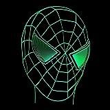 CYJQT Marvel Super Hero Lampe De Bureau Spider-Man Illusion Veilleuse 7 Changement De...