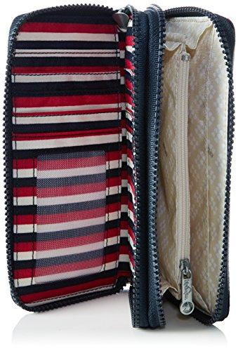 Kipling - Uzario, Portafogli Donna Multicolore (Sugar Stripes)