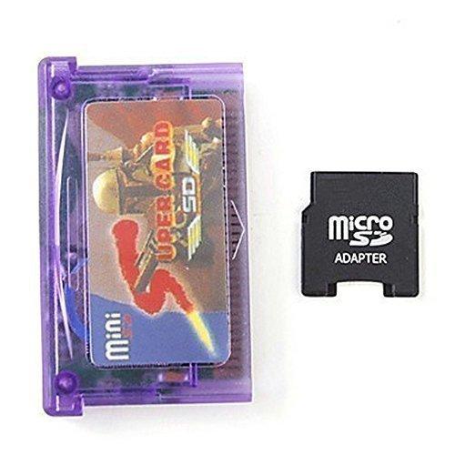 mentalkase® Mini SD zu Super Card Adapter für GBA SP NDSL + TF auf Mini SD Card Adapter