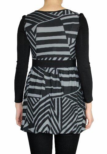 Longshirt Langarmshirt Kleid Damen Gr. S/M/L CX007-009 CX008 ...