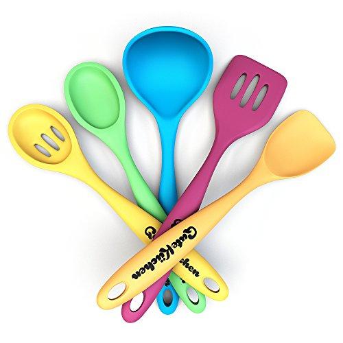 guteküchen utensili da cucina Set, Silicone, 5