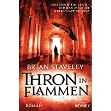 Thron in Flammen: Roman (Thron-Serie 2)