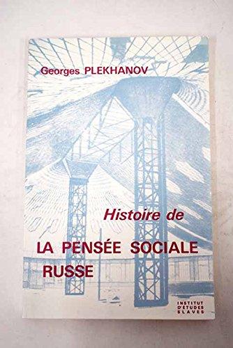 Histoire de la pensée sociale russe