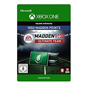 Madden NFL 18: MUT 1050 Madden Points Pack [Xbox One – Download Code]