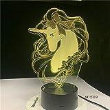Romantisches Geschenk Tischlampe Farbwechsel Nachtlicht Raumdekoration Urlaub Freundin Kinder Spielzeug Raumschiff