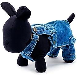 UEETEK Ropa para perros Mascotas doméstico ropa invierno - talla XS