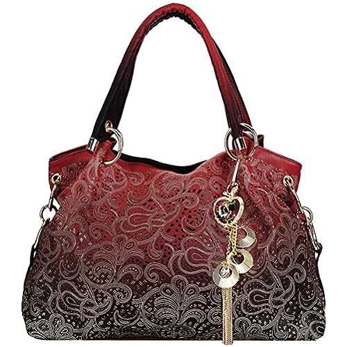 bolsos para el dia de la madre Coofit Bolsos Mujer de Moda Vintage Totes Bolsa