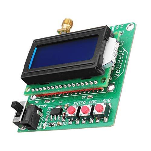 Qiyue Bao Zhuang Power Module-Test Digital Radio Frequency Power Meter -75 ~ + 16dBm Leistungsdämpfung kann eingestellt Werden Mini LCD automatische Hintergrundbeleuchtung