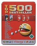 500 Top Bestseller Games in Metallbox