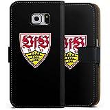 Samsung Galaxy S6 Flip Tasche Schutz Hülle Walletcase Bookstyle VfB Stuttgart Fanartikel 1893 Fußball