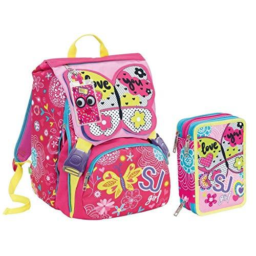 9ce137f713 Zoom IMG-1 zaino schoolpack seven sdoppiabile big