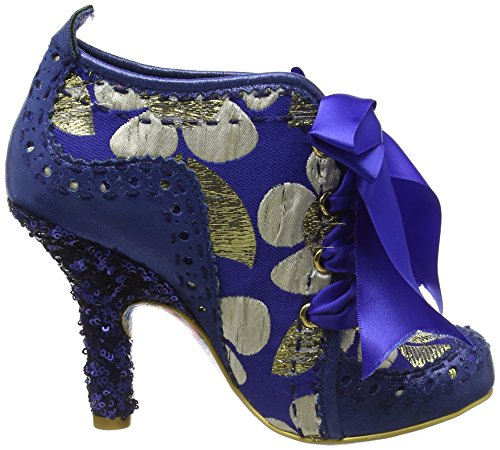 Irregular Choice Abigail's Third Party, Escarpins femme Blue (Blue/Gold)