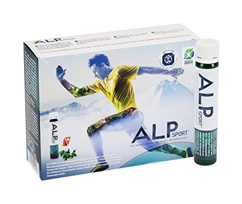 ALP SPORT Multivitamin Trinkampullen 14x25 ml Stoffwechselkur Vitamin-Komplex Mineralstoffe Q10 für Leistungssteigerung Muskelaufbau Immunsystem stärken (Flüssige Vitamine Multi)