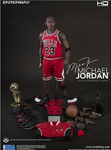 be6fe8a3eb9c1 Enterbay HD Masterpiece - NBA - Michael Jordan 1 4 Scale