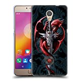 Head Case Designs Ufficiale Anne Stokes Coltello Dragoni Cover Morbida In Gel Per Lenovo P2