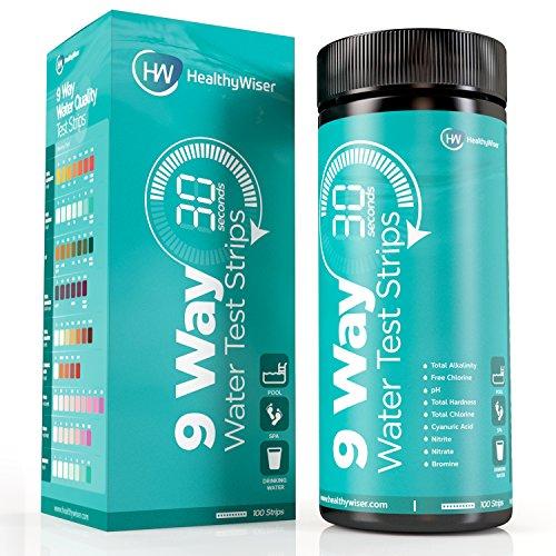 Water test kit 9-way 100ct, strisce test