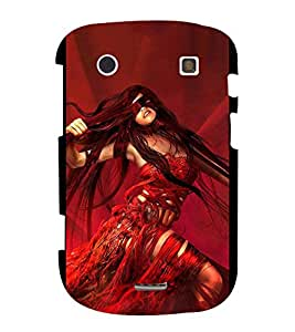 PrintVisa Fashionable Stylish Girl 3D Hard Polycarbonate Designer Back Case Cover for BlackBerry Bold Touch 9900 :: BlackBerry Dakota :: BlackBerry Magnum