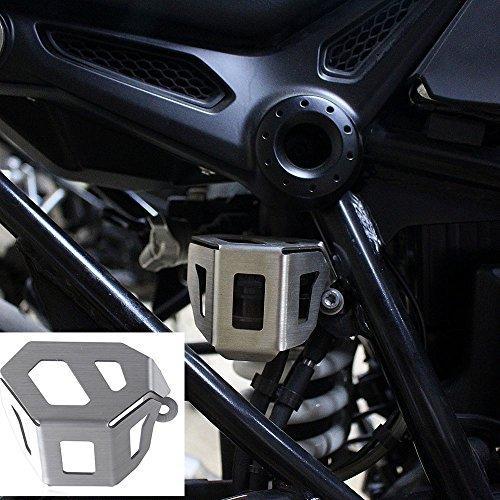 XX ecommerce Motorrad hinten Bremsflüssigkeit Reservoir Flasche Tank Gap Guard Aluminium für 2014-2017BMW R NINE T Scrambler 20152016 (2015 Gap)