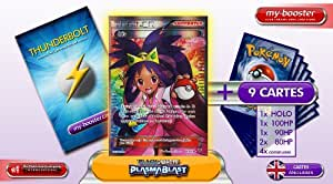 TRAINER IRIS (DRESSEUR) Full Art 101/101 Plasma Blast - Booster optimisé ATTAQUE ECLAIR de 10 cartes pokemon Anglaises