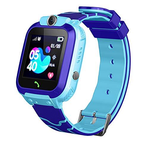 Linyingdian Smartwatch Niños, Reloj Inteligente Niña IP67, LBS, Hacer Llamada, Chat de Voz, SOS, Modo...