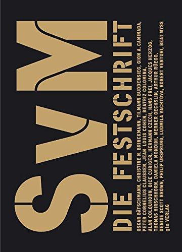 SvM: Die Festschrift für Stanislaus von Moos
