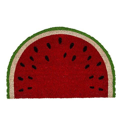 Fußmatte - Wassermelone | Fußabtreter lustig | Türvorleger mit Motiv | Schmutzmatte Eingangsbereich | Geschenk für Männer | Preis am Stiel®
