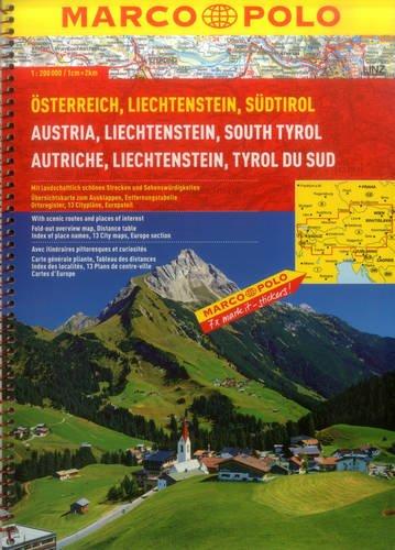 4 Brenner Natürliche (MARCO POLO Reiseatlas Österreich/Liechtenstein/Südtirol/Europa 1:200.000/1:4,5 Mio. (MARCO POLO Reiseatlanten))