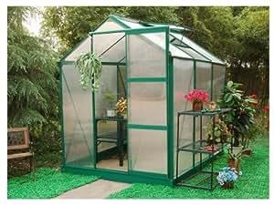 Serre de Jardin en polycarbonate GREENLINE II de 4.5 m²