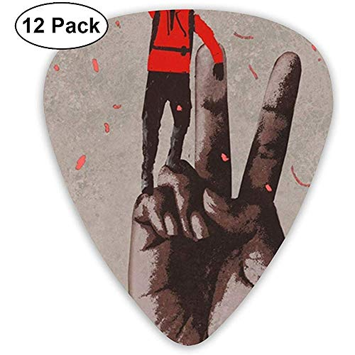 Big Hand in Victory Plektren Rockband-Mix, Rockband-Plektren