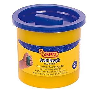 Jovi - Soft Dough Blandiver, Estuche de 5 Botes, 110 g, Color Azul (45005)