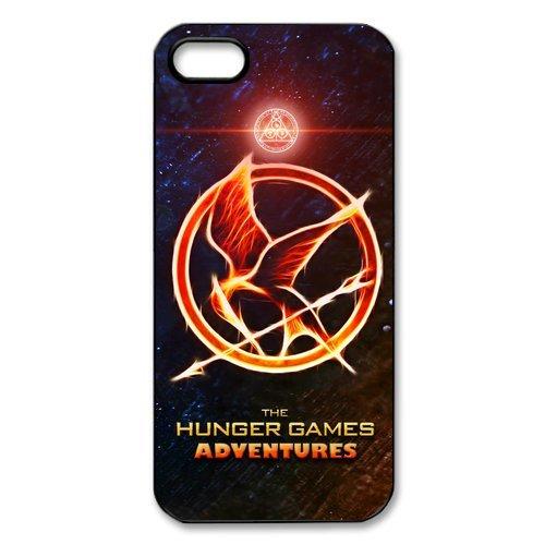 fayruz- personnalisée The Hunger Games Coque de protection rigide en caoutchouc avec revêtement en silicone téléphone portable Coque pour iPhone 5S/iPhone 5b-i5W946