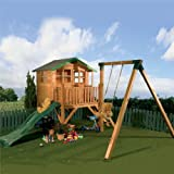 Walton's 12' x 13' Honeypot Poppy Tower Playhouse Activity Centre