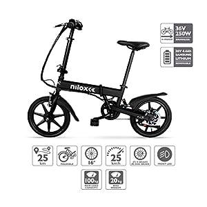 51EAVgmHPHL. SS300 Nilox Doc X2, Bicicletta Elettrica, E-bike, Bicicletta a Pedalata Assistita, Bicicletta Elettrica Pieghevole,Ruota 16…