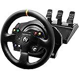 Thrustmaster TX Racing Wheel Leather Edition - Le Volant (Simulateur de Course) à Retour de Force Next - Gen pour Xbox One et PC Noir compatible avec Sebastien Loeb Evo