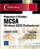 Image de Windows 2000 Professionnel - Examen 70-210