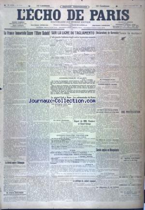 ECHO DE PARIS (L') [No 12134] du 05/11/1917