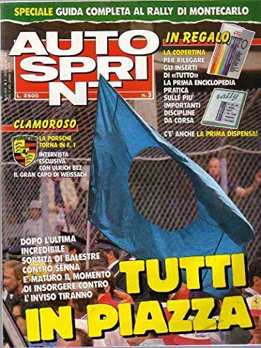 Autosprint n. 3 del Gennaio 1990 Reynard 90D, Balestre, Senna
